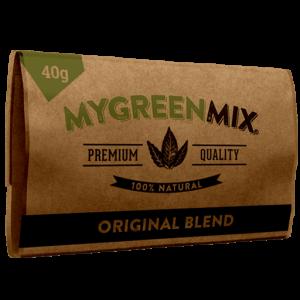 green mix herbal smoking blend